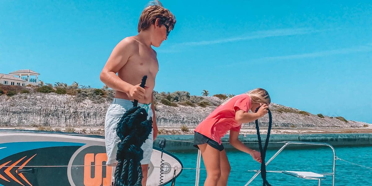 Bou Crew Boat kids